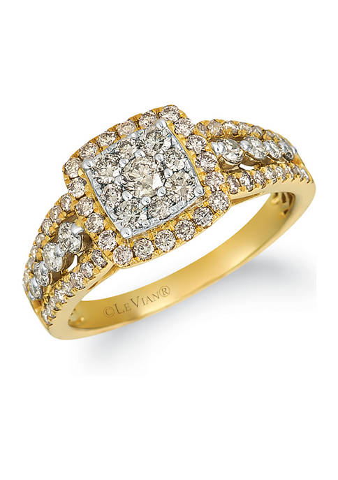 Nude Palette™ 1 ct. t.w. Nude Diamonds™ Ring in 14k Two Tone Gold
