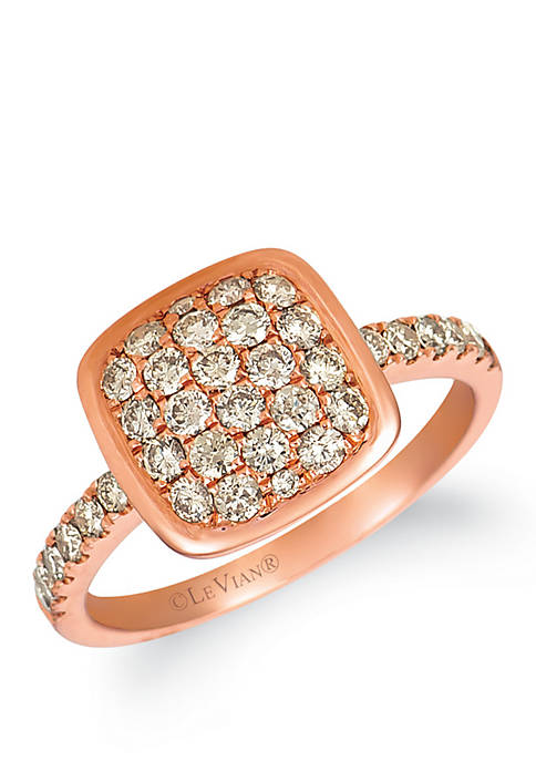 Nude Palette™ 3/4 ct. t.w. Nude Diamonds® Ring in 14k Strawberry Gold