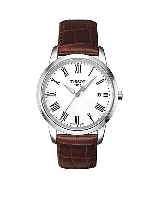 Classic Dream Mens Brown Quartz Classic Watch