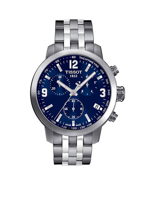 Mens PRC 200 Stainless Steel Chronograph Watch