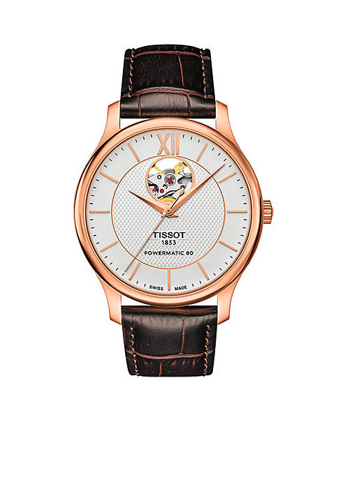 Tradition Automatic Open Heart Watch