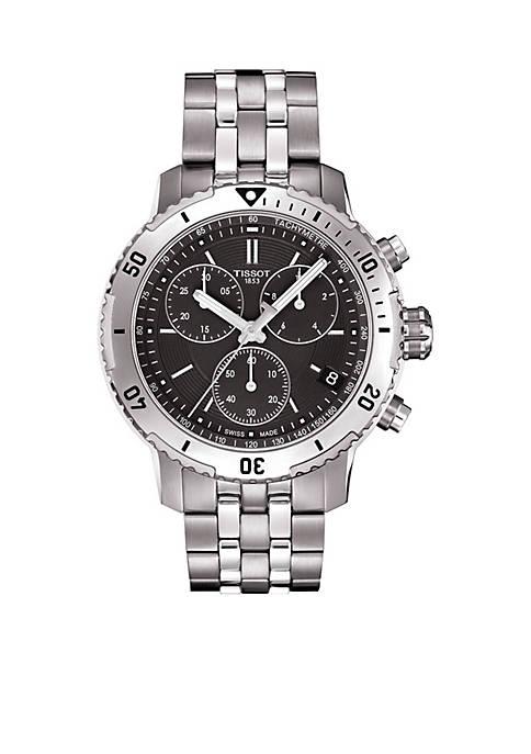 Mens PRS 200 Quartz Stainless Steel Chronograph Watch
