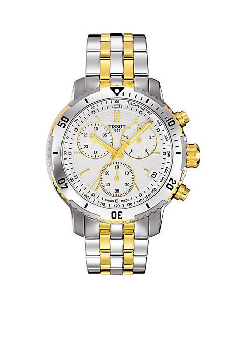 Mens Two-Tone PRS 200 Quartz Chronograph Watch