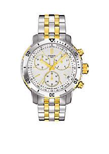 Men's Two-Tone PRS 200 Quartz Chronograph Watch