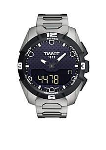 Men's T-Touch Expert Solar Titanium Bracelet Watch