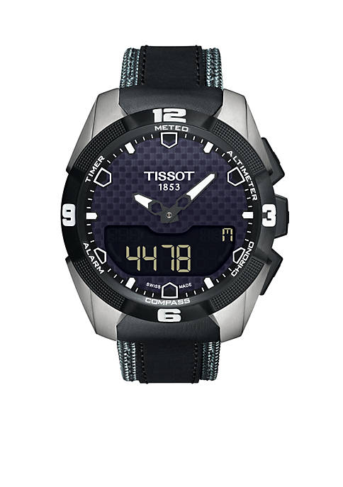 Mens T-Touch Expert Solar Titanium Watch