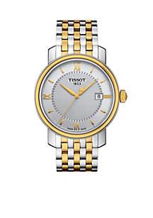 Men's Bridgeport Quartz Two-Tone Stainless Steel Bracelet Watch