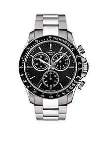 Men's Stainless Steel Swiss Chronograph V8 Bracelet Watch