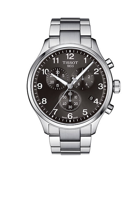 Mens Stainless Steel Chrono XL Classic Watch