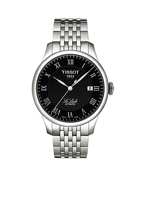 Tissot Le Locle Mens Black Automatic Classic Watch