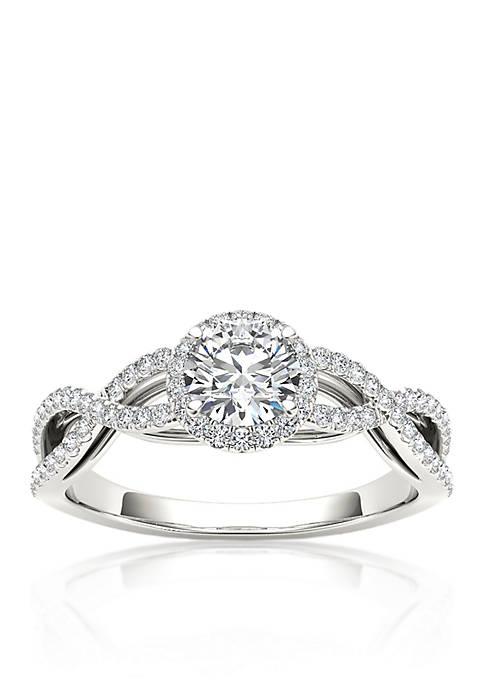 Belk & Co. 3/4 ct. t.w. Halo Diamond