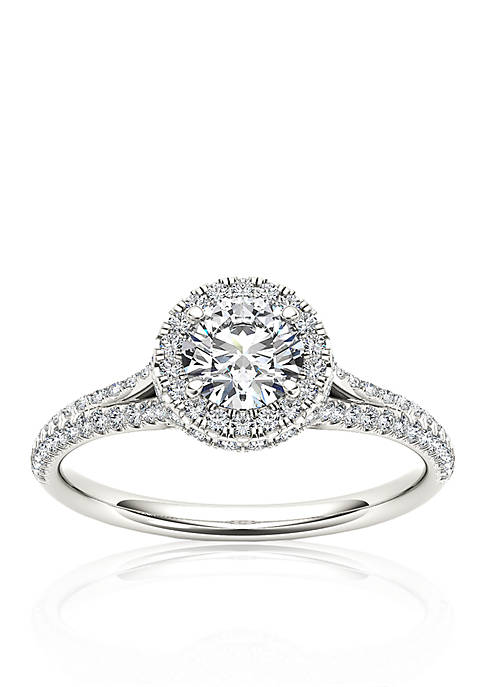 Belk & Co. 1 ct. t.w. Halo Diamond