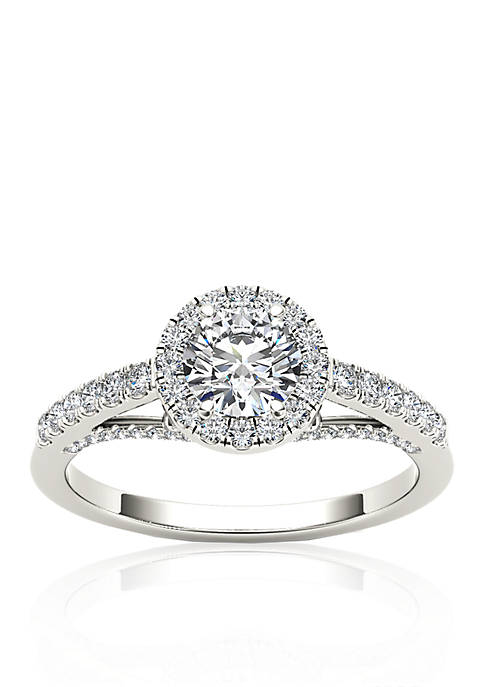 Belk & Co. 3/4 ct.t.w. Halo Diamond Engagement