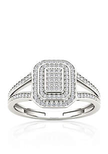 1/4 ct. t.w. Diamond Promise Ring in 10k White Gold