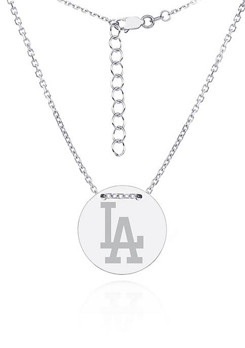 Belk & Co. Sterling Silver MLB Engraved Los