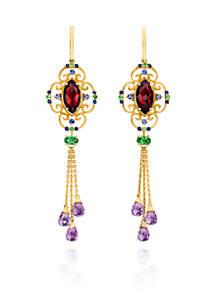 14k Honey Gold™ Multi Gemstone Earrings