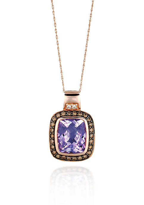 Le Vian® 14k Strawberry Gold® Cotton Candy Amethyst®,
