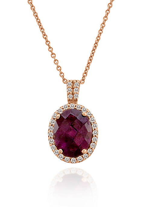 Le Vian® 14k Strawberry Gold® Raspberry Rhodolite® and