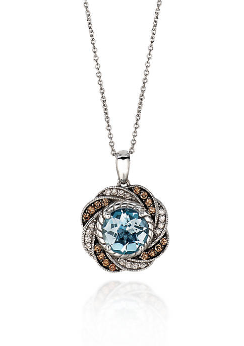 Le Vian® 14k Vanilla Gold™ Sea Blue Aquamarine®,