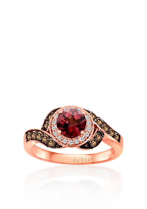 Le Vian® 14k Strawberry Gold® Raspberry Rhodolite®,