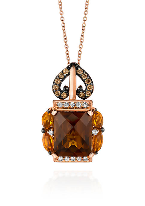 Le Vian® 14k Strawberry Gold® Caramel Quartz™,