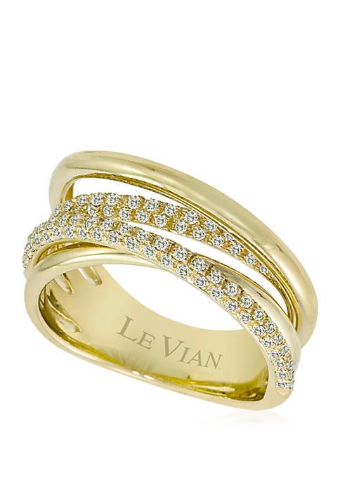 1/2 ct. t.w. Vanilla Diamonds® Ring in 14k Honey Gold™