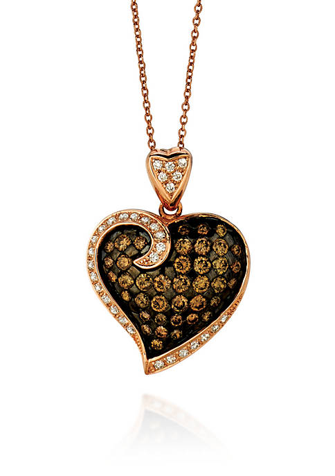Le Vian® Chocolate Diamond® and Vanilla Diamond® Pendant