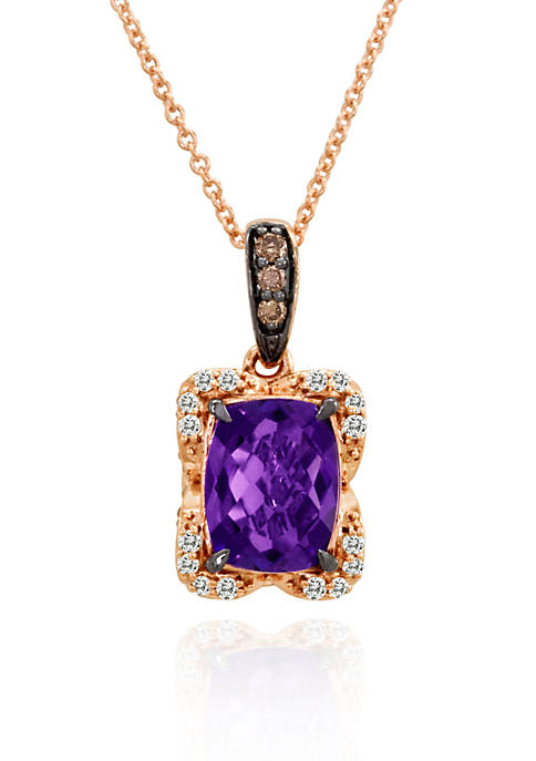 Le Vian® Candy Colors Amethyst®, Vanilla Diamond®, and