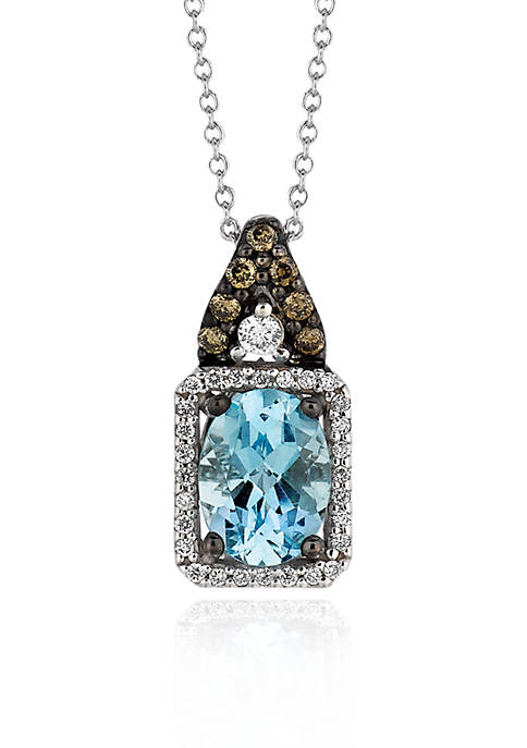 Le Vian® 14k Vanilla Gold™ Sea Blue Aquamarine®,