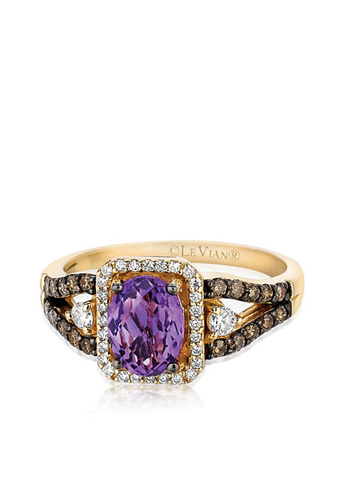 Le Vian® 14k Honey Gold™ Candy Colors® Amethyst,