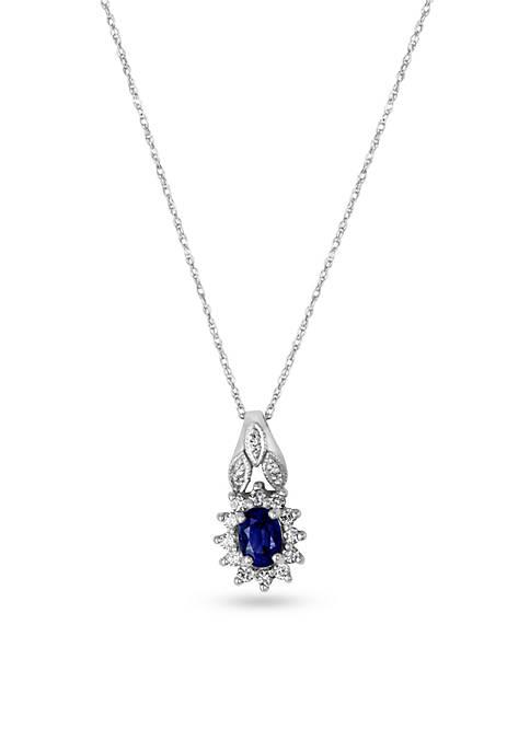 Le Vian® Le Vian Blueberry Sapphires and Vanilla