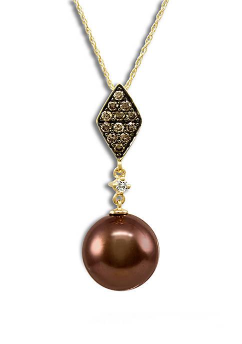 Le Vian® Chocolate Pearl®, 1/3 ct. t.w. Chocolate