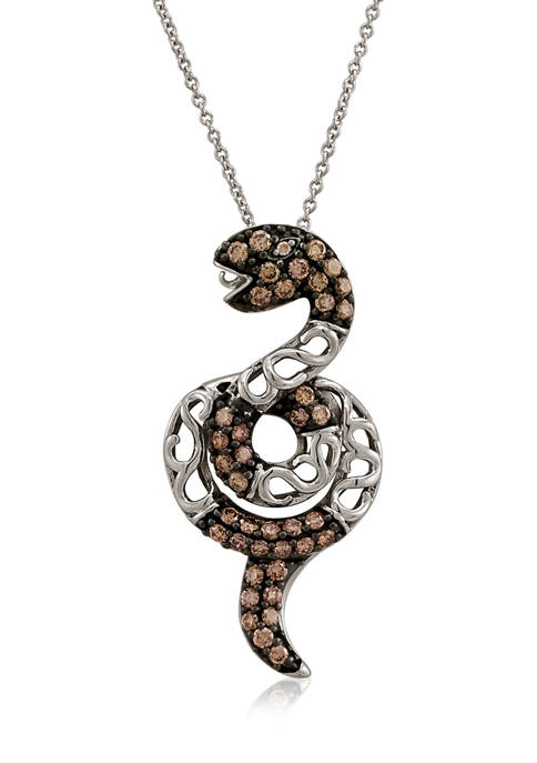 5/8 ct. t.w. Diamond Pendant Necklace in 14K White Gold
