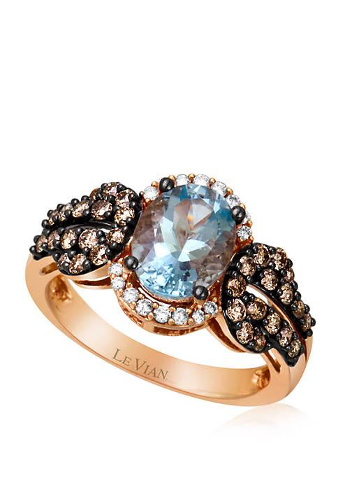 Le Vian® 3/8 ct. t.w. Sea Blue Aquamarine®,