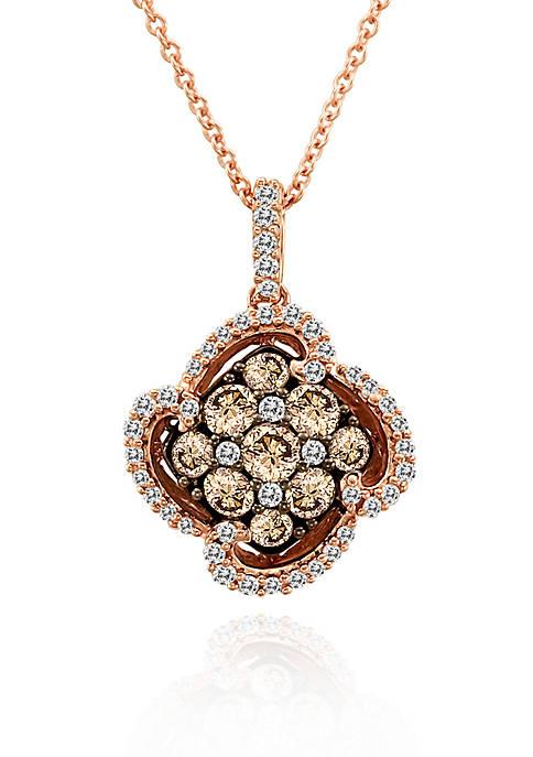 Le Vian® Chocolate Diamond® and Vanilla Diamond® Cluster