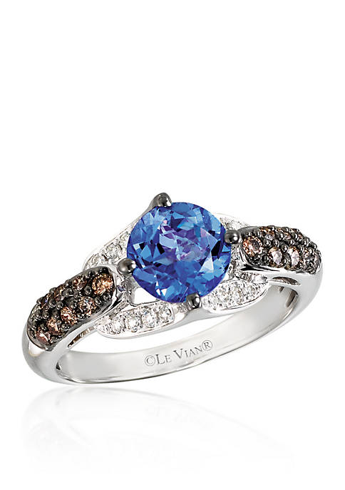 Le Vian® 14k Vanilla Gold® Blueberry Tanzanite™,