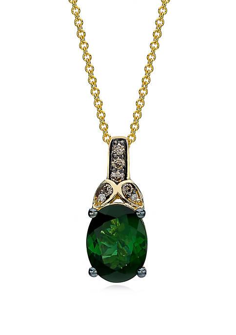 Le Vian® 5/8 ct. t.w. Hunters Green Tourmaline™,