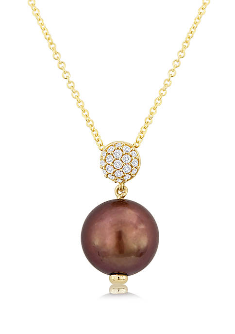 Le Vian® Chocolate Pearl® and 1/10 ct. t.w.