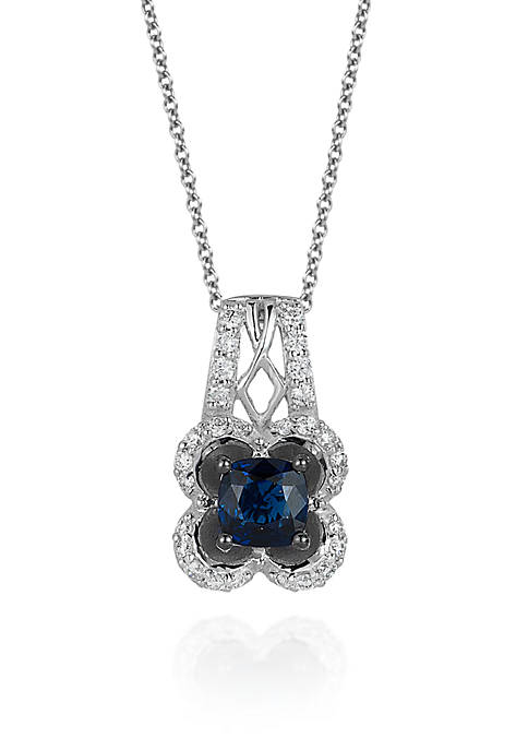 Le Vian® Blueberry Sapphire™ and Vanilla Diamond®