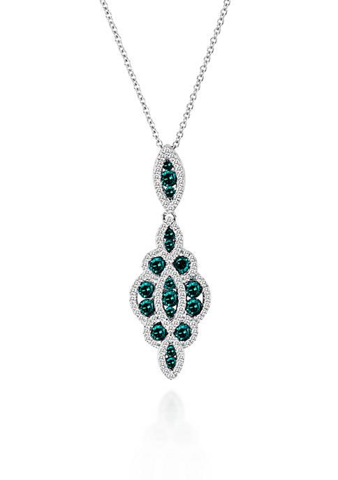Le Vian® Blueberry Diamond® and Vanilla Diamond® Pendant
