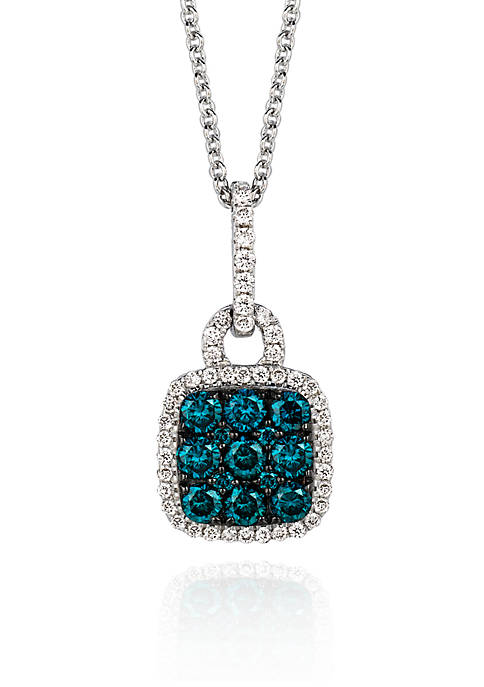 Le Vian® Blueberry Diamond® and Vanilla Diamond® Pendant