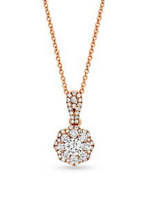 Le Vian Vanilla Diamonds Pendant in 14k Strawberry Gold