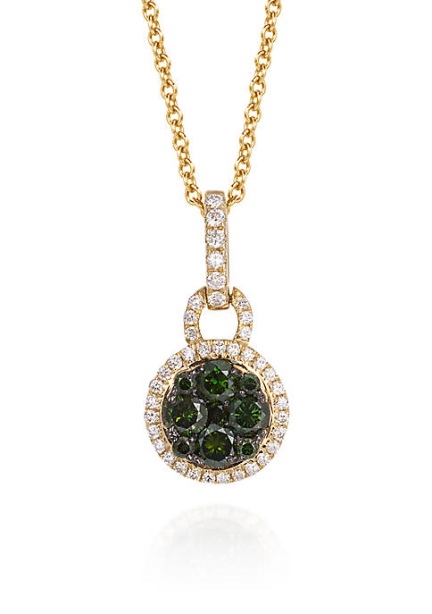 Le Vian® Kiwiberry Green Diamond™ and Vanilla Diamond®