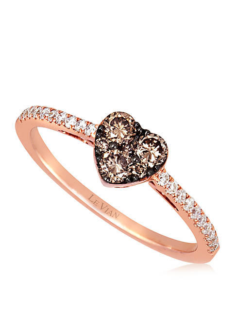 Le Vian® 1/3 ct. t.w. Chocolate Diamonds® and
