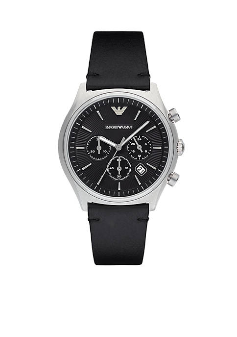 Emporio Armani® Mens Zeta Chronograph Watch
