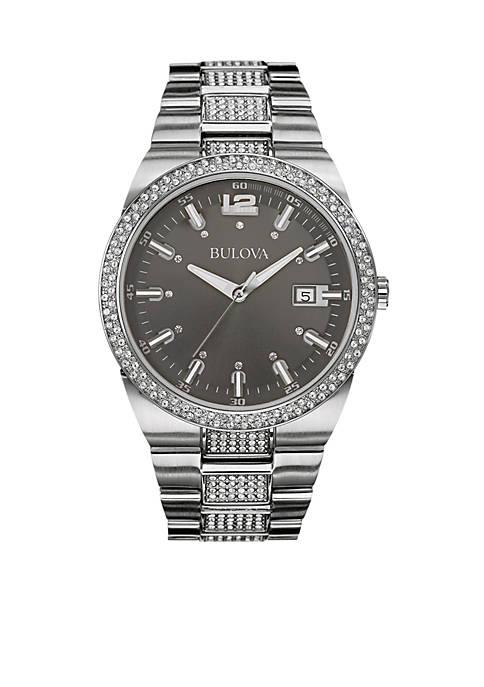 Bulova Black Dial Bracelet Watch