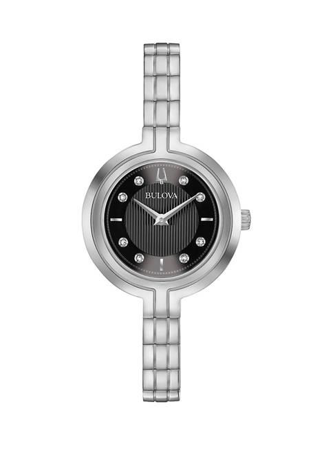Bulova Diamond Accent Dial Bracelet Watch