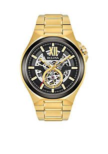 Men's Gold-Tone Automatic Watch