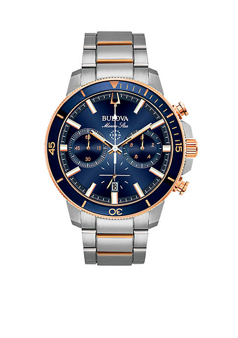 Bulova Mens Marine Star Chronograph Watch