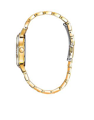 045d2a6c6 Bulova Women's Gold-Tone Swarovski Crystal Watch | belk